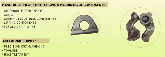 Forging Manufacturers India, Carbon, Alloy & Stainless Steel Forging Exporters